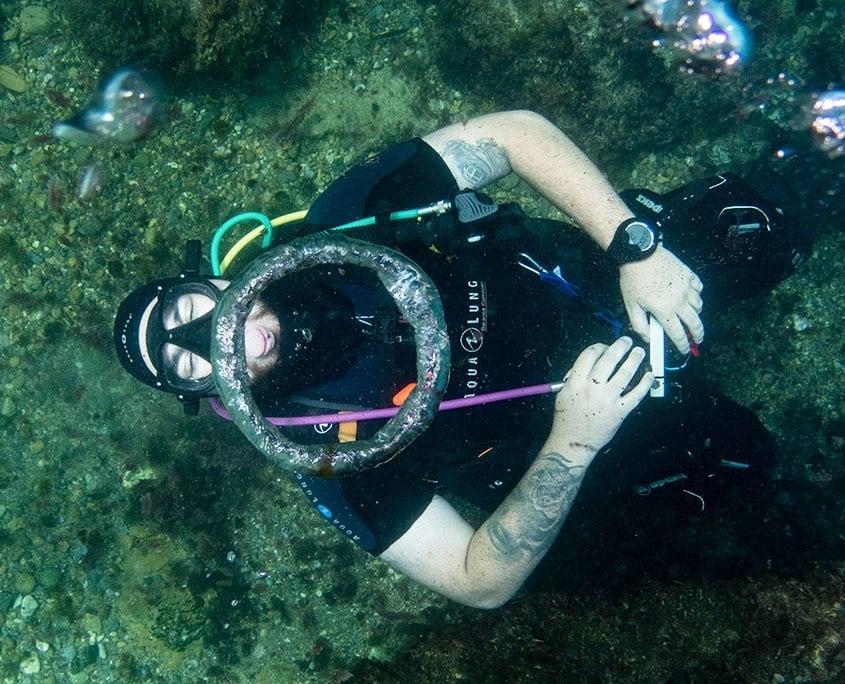 Dive at Tabarca Island