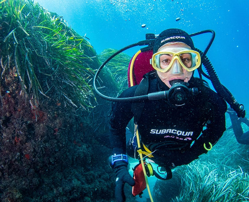 Diving at Tabarca Island